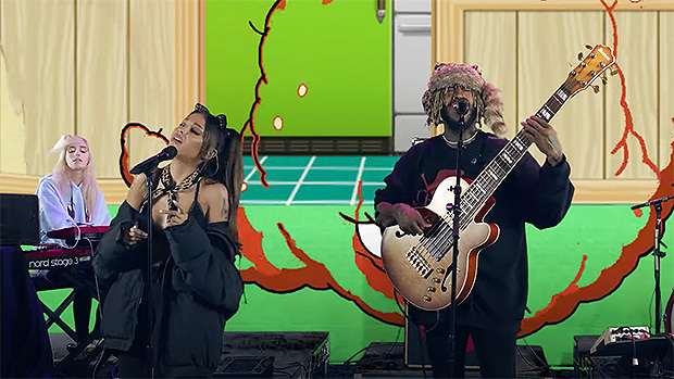 Ariana Grande & Thundercat Slay Performance As He Says They're 'Forever Connected' By Mac Miller's Death