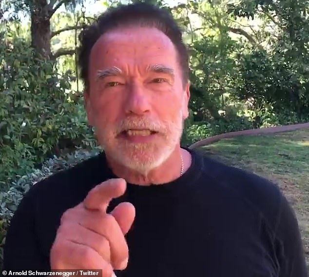 Arnold Schwarzenegger SLAMS low turnout at LA National Cemetery for Veterans Day