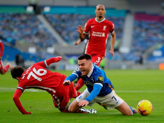 As it happened: English Premier League – Liverpool go top but VAR dominates draw with Brighton