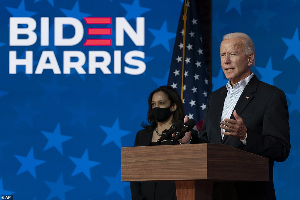 Biden's lead in Nevada expands by more than 22,000 votes as the count drags on