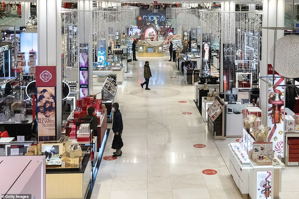 Black Friday bust in NYC: Deserted Macy's and Best Buy