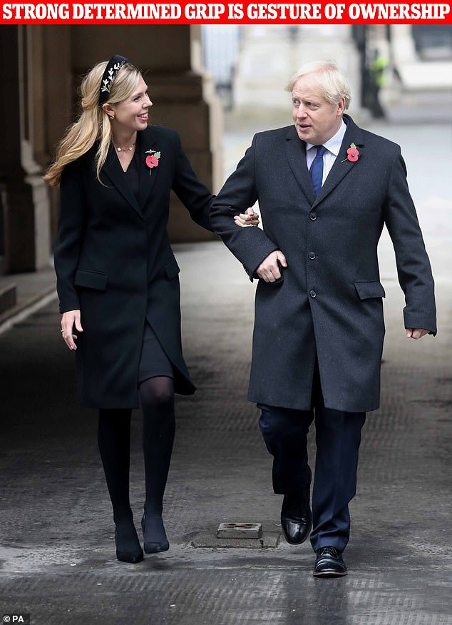 Boris Johnson 'lacks authority' and Carrie Symonds 'holds power'