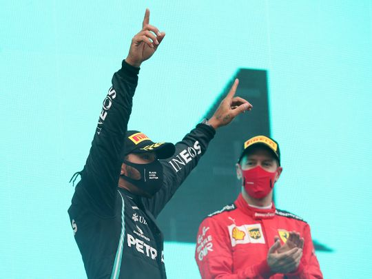 Breaking news: Lewis Hamilton ready to party in Abu Dhabi after securing seventh Formula One title in Turkey