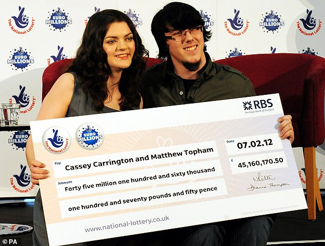 Britain's youngest EuroMillions winner is accused of killing grandmother in car crash in his BMW