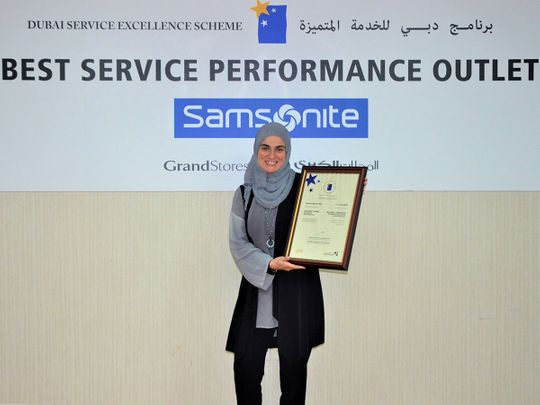 Business Excellence Awards: Grand Stores wins Best Service Performance Outlet Award for Samsonite