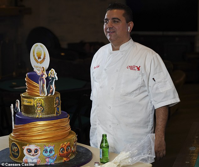 Cake Boss star Buddy Valastro shows off his scarred right hand for the FIRST TIME