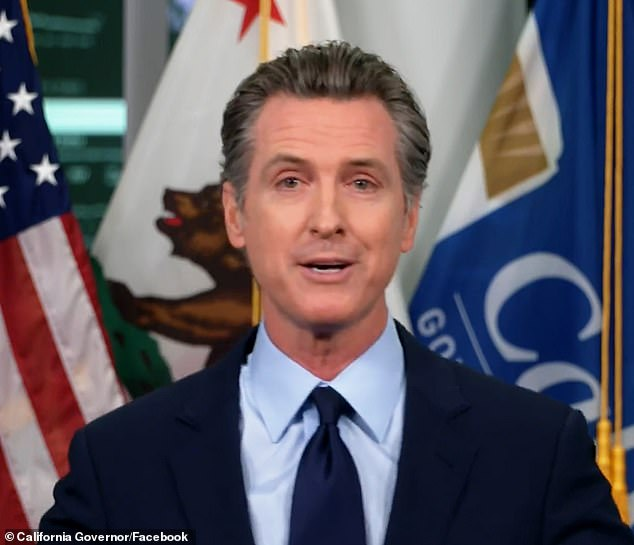 California Gov Newsom issues 'limited stay-at-home order' amid coronavirus case spike