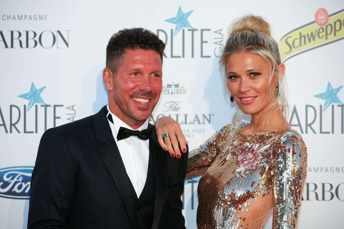 Carla Pereyra encourages her husband Diego Simeone and Atlético de Madrid from Argentina | The State