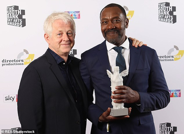 Comic Relief lost £380,000 to an African aid group whose director used donations to pay his mortgage and splash out in expensive restaurants, an inquiry has found. The charity was founded in 1985 by screenwriter Richard Curtis and comedian Sir Lenny Henry (pictured together)