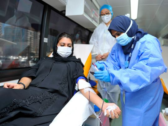 DHA blood donation campaign to follow strict COVID-19 protocol