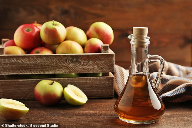 DR ELLIE CANNON: Don't rely on cider vinegar to cure your lumps… or anything
