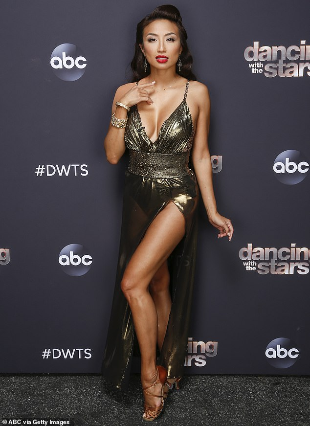 Dancing With The Stars contestantJeannie Mai, 41, has DROPPED OUT