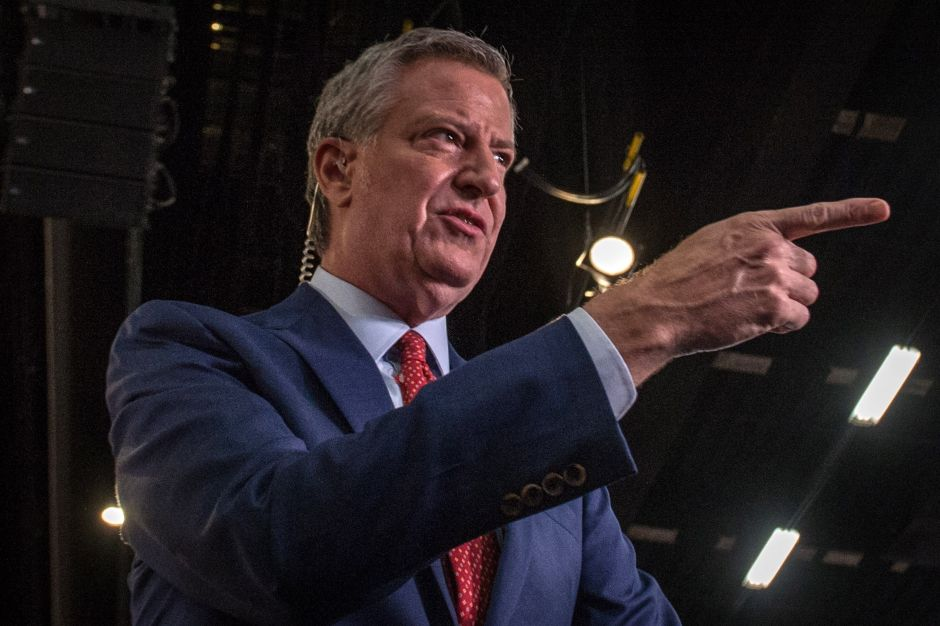 "De Blasio: ""Joe Biden's triumph is a new day for New York City"" 