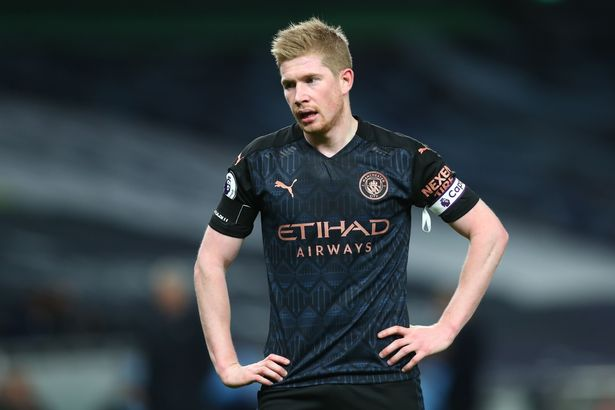 Kevin De Bruyne rejected Manchester City's first offer of a new contract