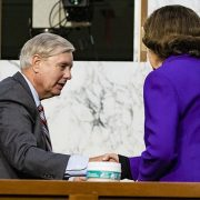 Dianne Feinstein to step down as top Democrat on the Senate Judiciary panel after Lindsey Graham hug
