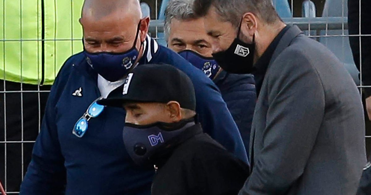 Diego Maradona's family furious over 'final' picture of legend before death