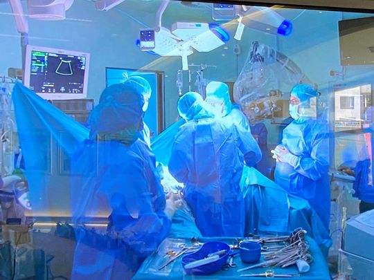 Doctors in Dubai achieve a rare feat, conduct surgery on 25-week foetus