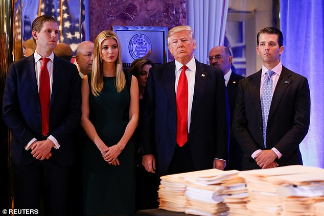 Donald Trump tax probes to include write-offs after $784k Ivanka sum