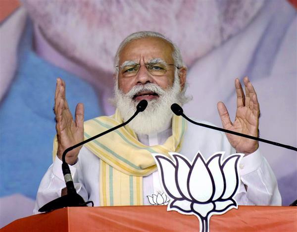 'Double-double yuvraj' eyeing Bihar: Modi takes a dig at Rahul, Tejashwi