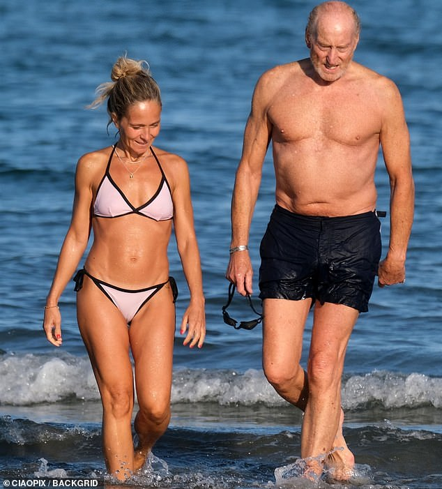 EDEN CONFIDENTIAL: Charles Dance's relationship with Italian film producer, 53, gets serious