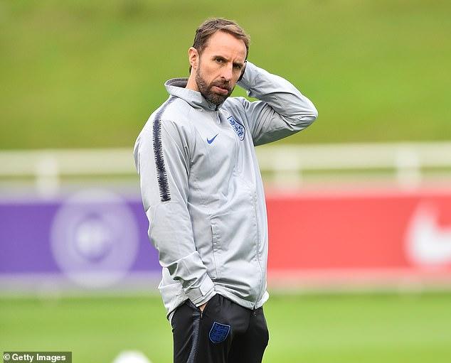 England boss Gareth Southgate has been secretly battling coronavirus