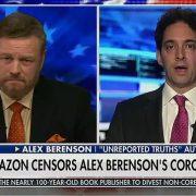 Ex-New York Times reporter Alex Berenson blasts Amazon's Big Tech censorship