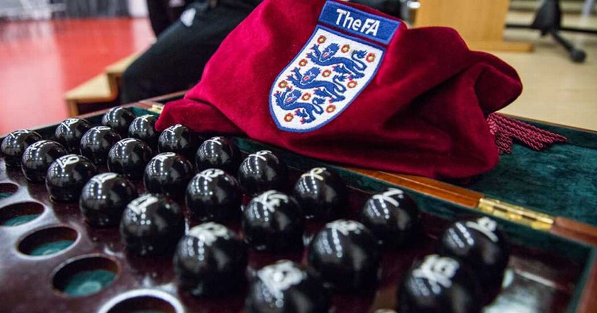 FA Cup draw LIVE: Second Round ties selected as Road to Wembley continues