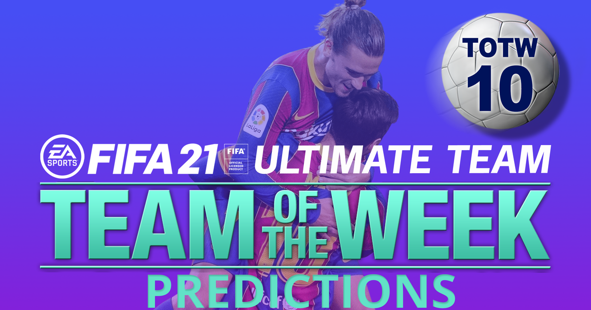 FIFA 21 TOTW 10 predictions featuring Kevin De Bruyne and Antoine Griezmann