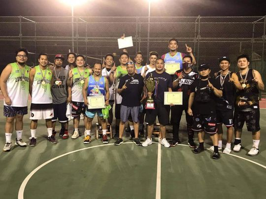 Filipinos in Dubai play basketball to raise funds for victims of super typhoon in the Philippines