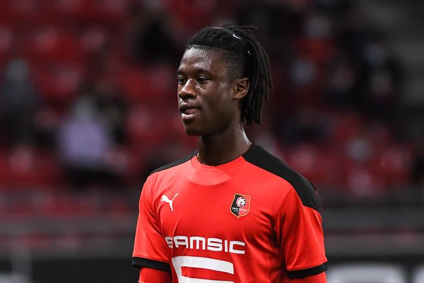 Eduardo Camavinga made his debut for Rennes at 16 years and 4 months old