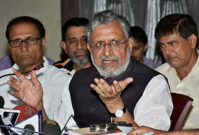 Former Bihar Deputy CM Sushil Modi is BJP nominee for Rajya Sabha bypoll