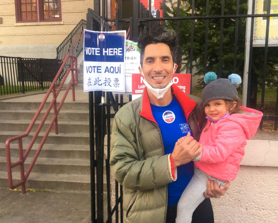 Former Hillary Campaign Volunteer Votes and Relives Trauma Four Years Ago | The NY Journal