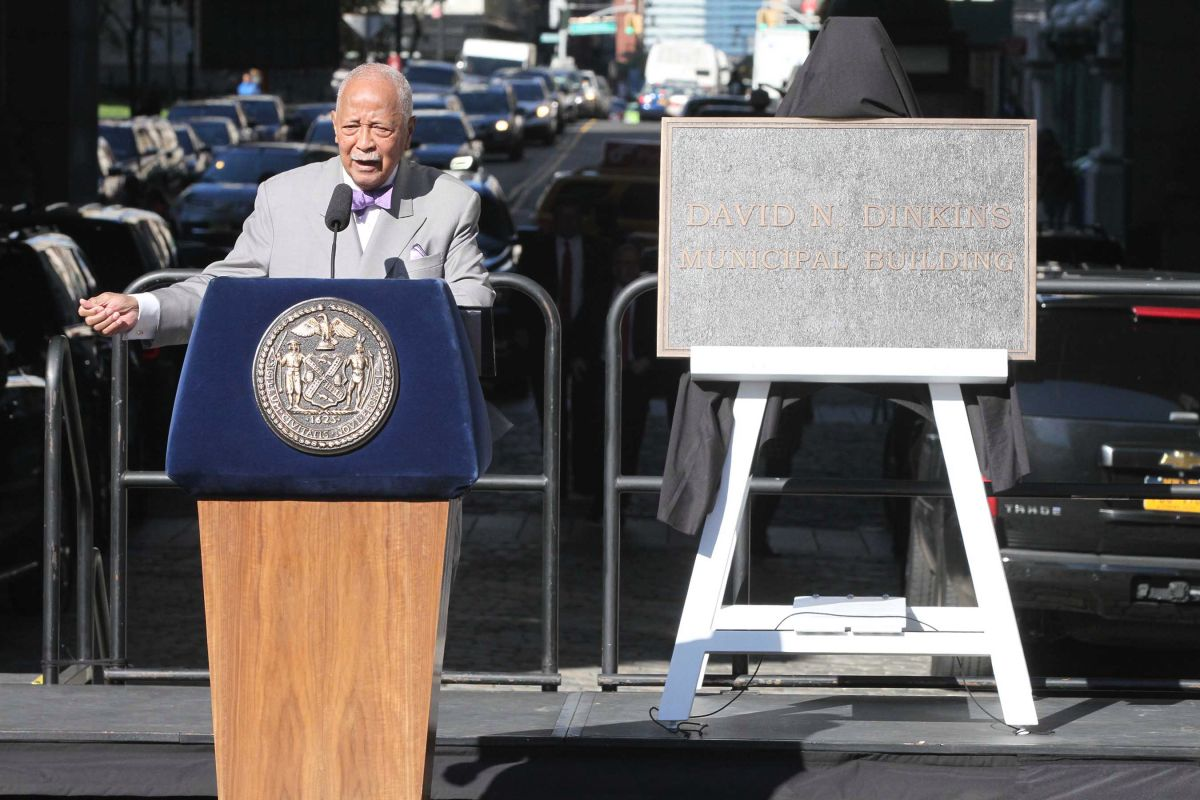 Former Mayor David Dinkins, the most powerful African American in New York, has died | The State