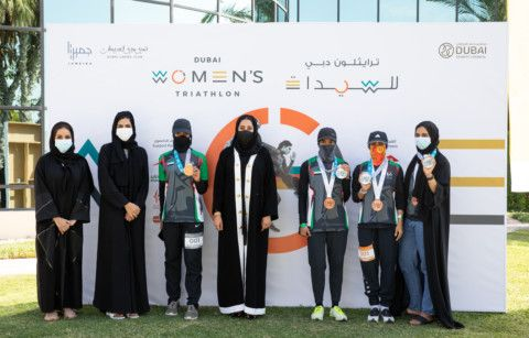 Fourth edition of Dubai Women's Triathlon returns, taking COVID 19 challenges in stride