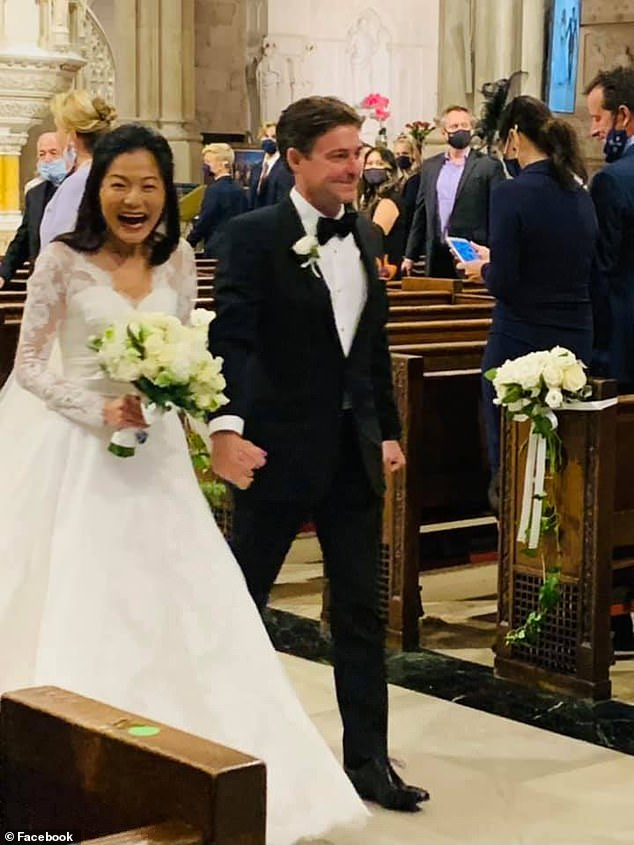 Fox contributor and his ABC producer wife are criticized after flouting COVID for wedding