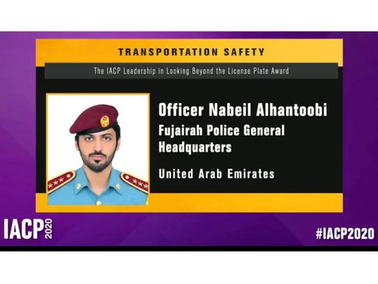 Fujairah Police win two prestigious awards in fighting crimes and effective policing