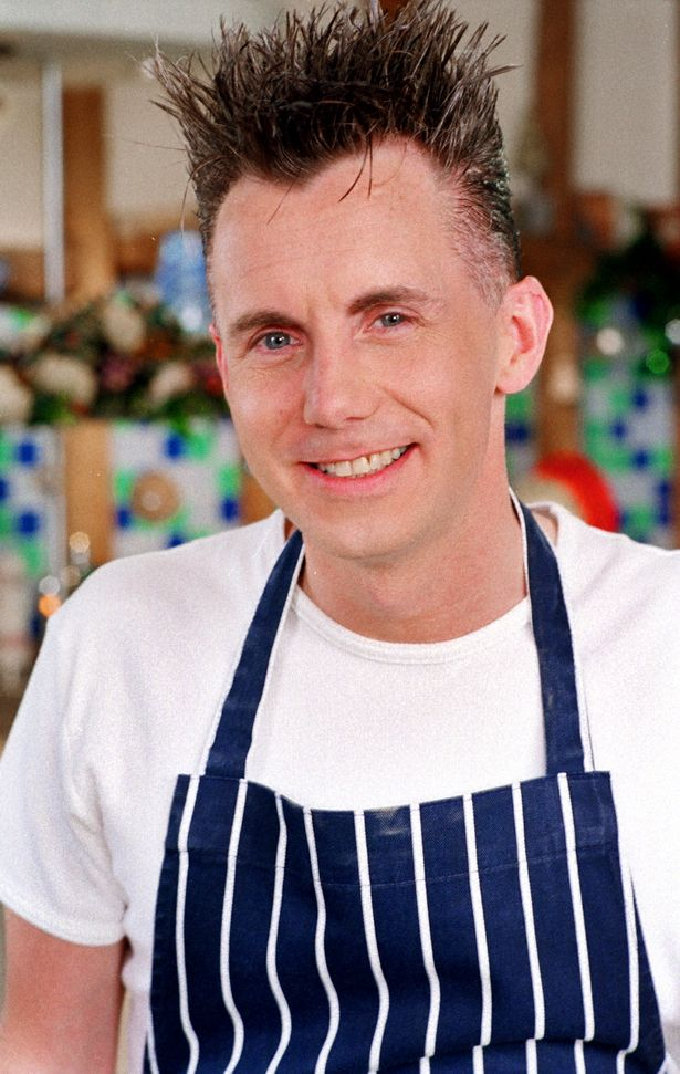 Gary Rhodes made his spiky hair part of his TV identity