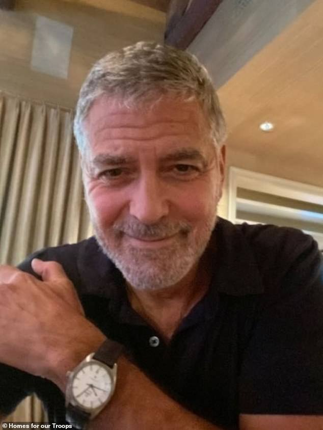 George Clooney's watch and Jennifer Aniston's bag among items in celebrity auction for Veterans Day