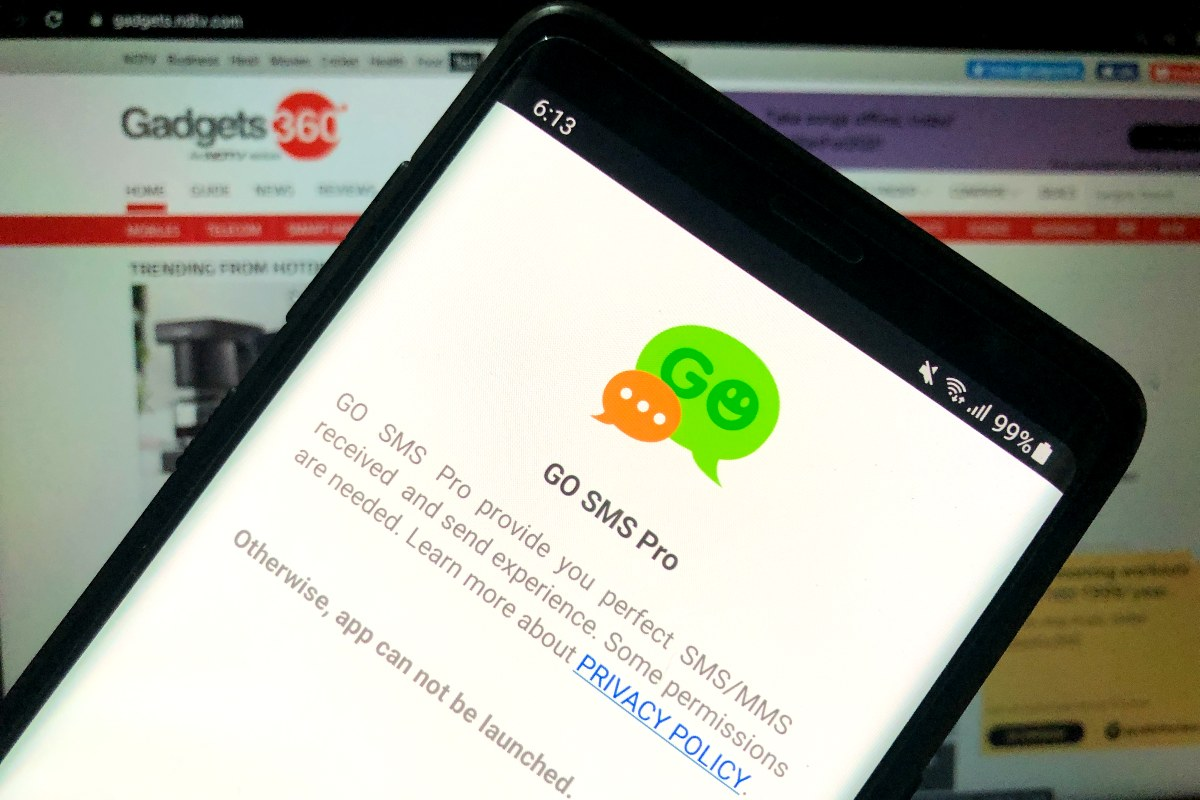 Go SMS Pro Messaging App No Longer Available on Google Play