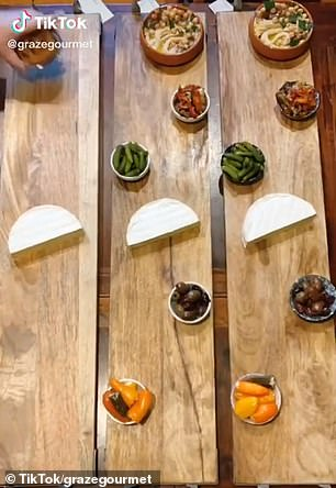 Gourmet platter queen Larissa wows with her extravagant platters