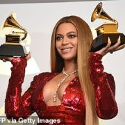 Grammy nominations: Beyonce comes out on top with NINE nods… despite not releasing a 2020 album