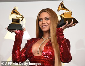 Beyonce could snag a full nine awards this year