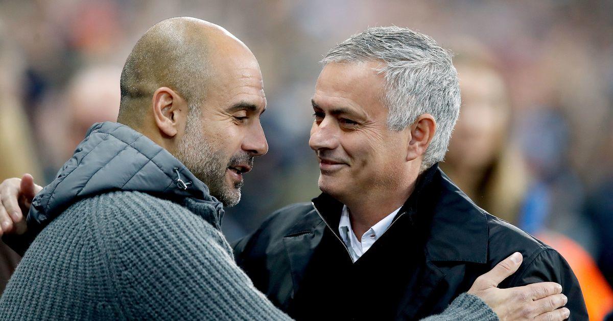 Guardiola believes old foe Mourinho has turned Tottenham into title contenders
