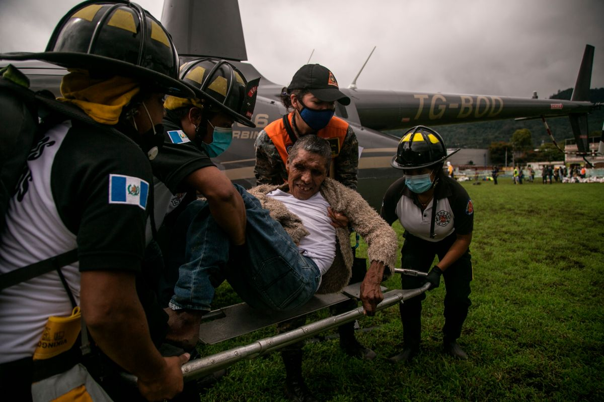 Guatemalan would have lost 40 relatives due to the passage of the Eta storm The State