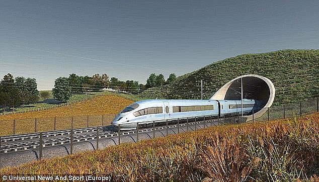 HS2 project could cost the taxpayer £170BILLION, claims deputy chairman of official review