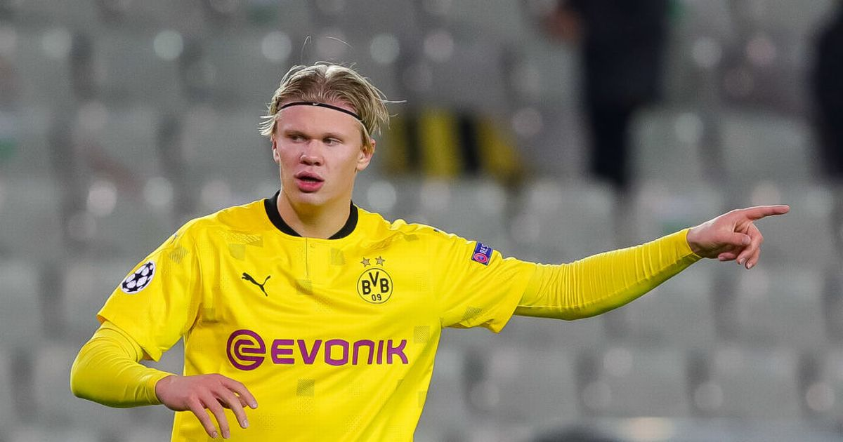 Haaland's father declares Dortmund ambition in blow to Man Utd transfer hopes