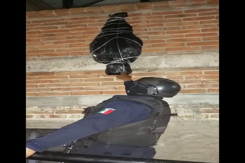 """""""Hanging body"""" causes alarm; you will not believe what it really was 