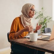 Hijabis in UAE share their unique challenge on Zoom, Teams meetings
