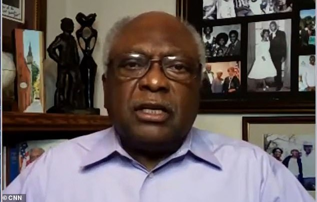 House Majority Whip Jim Clyburn compares Trump's claims of voter fraud to'Hitler in Germany'