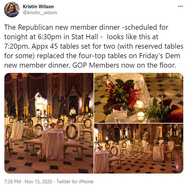 House Republicans cancel Capitol dinner for new members amid backlash over COVID risks